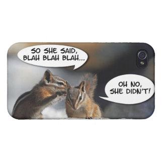 Chipmunks Juicy Gossip Case For iPhone 4