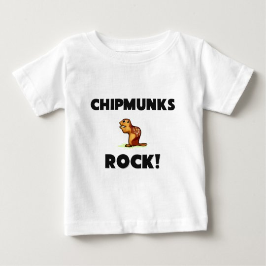 Chipmunks Rock Baby T-Shirt