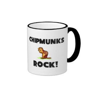 Chipmunks Rock Mugs