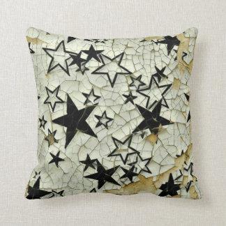 Chipped Away Galaxy Cushion
