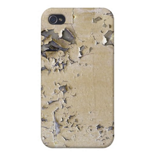 Chipped Painted Metal Textured iPhone 4/4S Covers