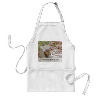 Chippie The Chipmunk Investigates A Rope Adult Apron