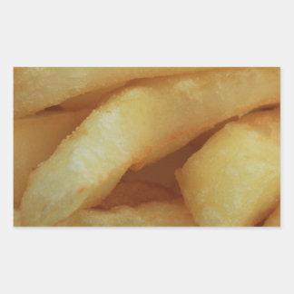 Chips/Fries Rectangular Sticker
