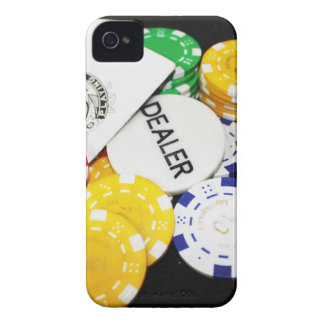 Chips Gambling Casino Win Game Luck Risk Bet iPhone 4 Case-Mate Cases