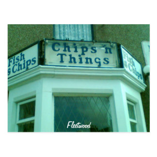 Chips N Things Postcard