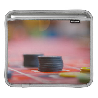 Chips on betting table 3 iPad sleeve