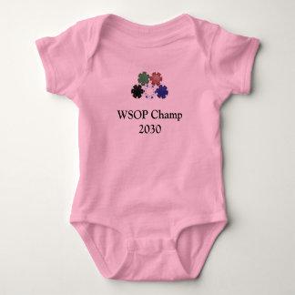 chips, WSOP Champ 2030 Baby Bodysuit