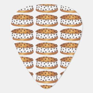Chipwich Chocolate Chip Cookie Ice Cream Sandwich Guitar Pick