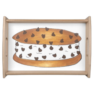 Chipwich Chocolate Chip Cookie Ice Cream Sandwich Serving Tray