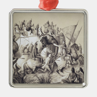 Chir Singh, Maharaja of the Sikhs with the King of Christmas Ornament