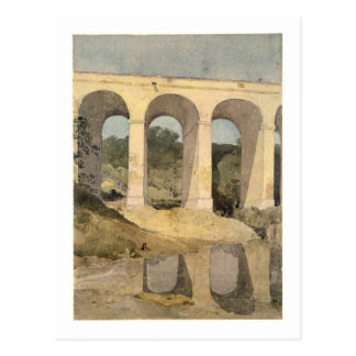 Chirk Aqueduct, 1806-7 (w/c on paper) Postcard