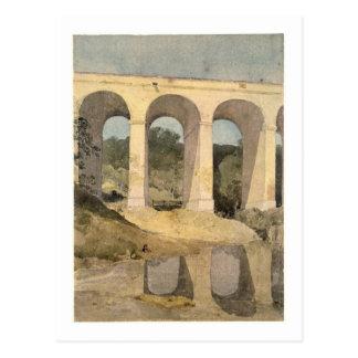 Chirk Aqueduct, 1806-7 (w/c on paper) Postcard