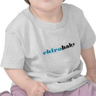 Chiro Baby - Blue Tshirts