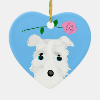 Chiro the DOG Jack russell terrier Christmas Ornament