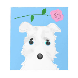Chiro the dog Jack russell terrier Notepad