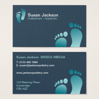 Chiropody Business Card