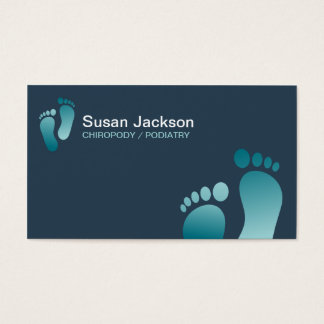 Chiropody Business Card