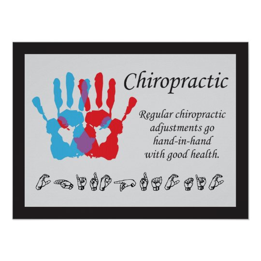 Chiropractic Adjustments Sign Language