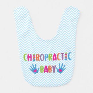 Chiropractic Baby Blue Bib