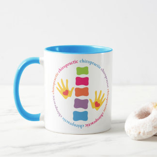 Chiropractic Hands and Spine Mug