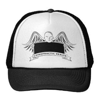 Chiropractic Health Angel Sign Symbol Cap