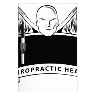 Chiropractic Health Angel Sign Symbol Dry-Erase Board