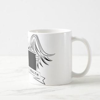 Chiropractic Health Angel Sign Symbol Basic White Mug