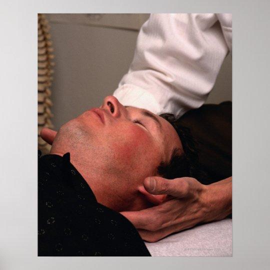 Chiropractic Manipulation Poster