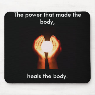 """Chiropractic Mousepad """"The Power"""""""