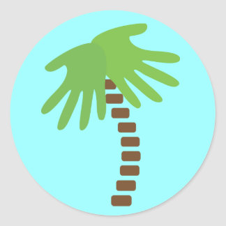 Chiropractic Palm Tree Stickers