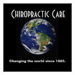 Chiropractic Poster: Changing the World Since 1895