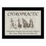 Chiropractic Subluxation Quote Poster