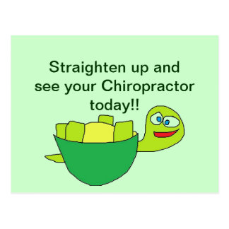 Chiropractor Appointment cards Postcard