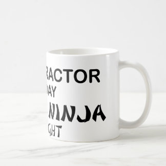 Chiropractor Deadly Ninja by Night Coffee Mug