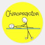 Chiropractor Gifts Round Sticker
