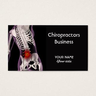 Chiropractors Business Card