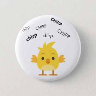 Chirp Baby Chick Cute Emoji 6 Cm Round Badge