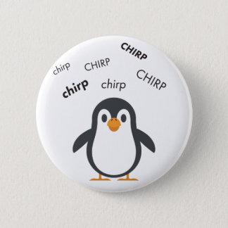 Chirp Penguin Cute Emoji 6 Cm Round Badge