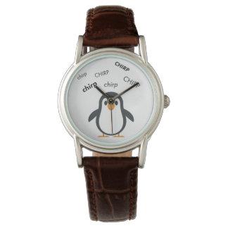 Chirp Penguin Cute Emoji Watch