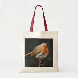Chirpy Robin Canvas Bags