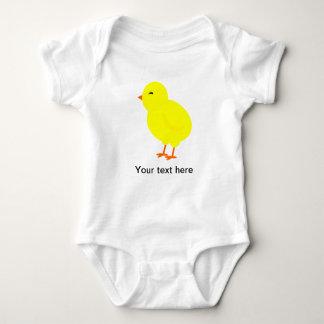 Chirpy the Yellow Baby Chick Baby Bodysuit