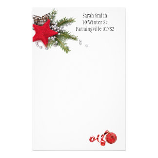 Chirstmas Stationary Stationery