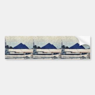 Chiryu  by Katsushika, Hokusai Ukiyoe Bumper Sticker