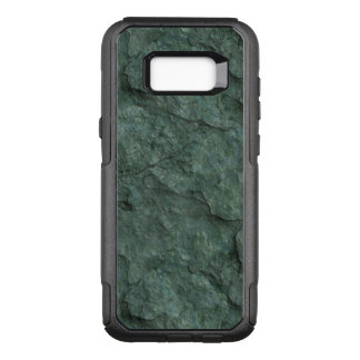 Chiseled Gray Green Rock OtterBox Commuter Samsung Galaxy S8+ Case