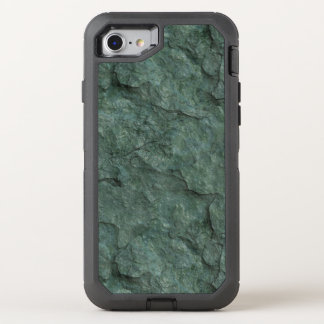 Chiseled Gray Green Rock OtterBox Defender iPhone 8/7 Case