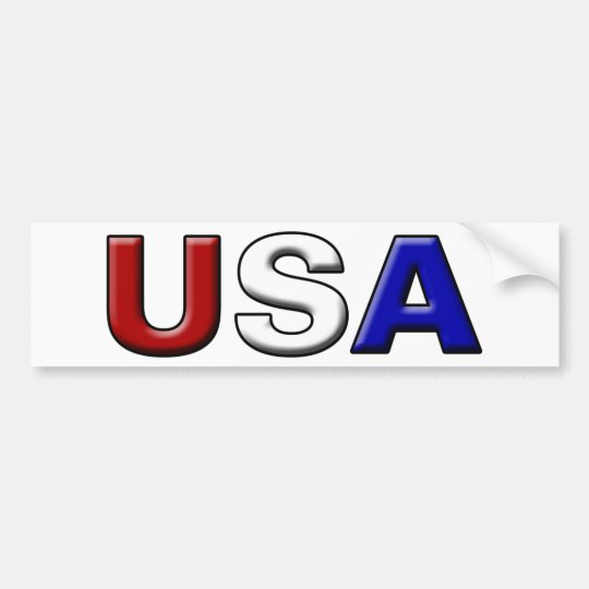 Chiseled USA Bumper Sticker