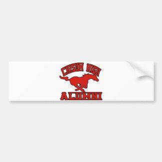 Chisum Mustangs Alumni Bumper Stickers