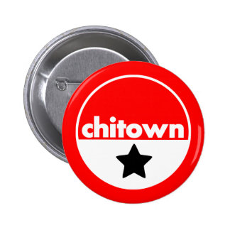 ChiTown 6 Cm Round Badge
