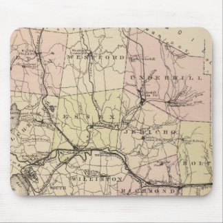 Chittenden County in Vermont Mouse Pad