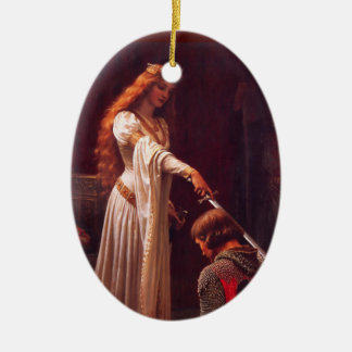 Chivalry Christmas Ornament